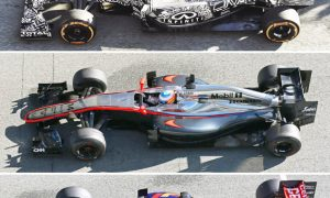 All the 2015 F1 cars at a glance