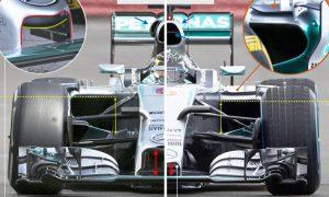 A closer look at the Mercedes W06