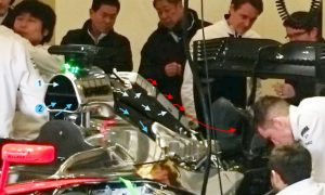 A cool solution on the McLaren-Honda?