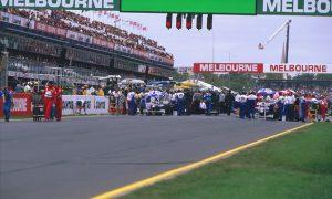Melbourne 1996 - Villeneuve's outstanding debut