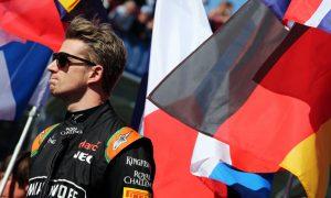 Hulkenberg 'very sad' at German GP absence