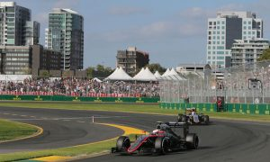 Button expects quick progress after completing race
