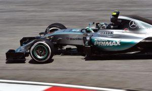 Rosberg fastest as Ferrari remains close