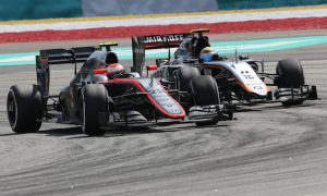 Button encouraged by MP4-30's strengths