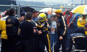 Remembering Senna's maiden F1 win