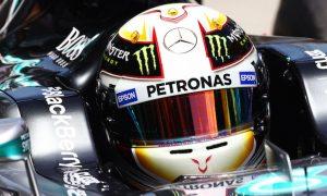 Hamilton heads Rosberg for dominant Mercedes