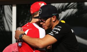 Hamilton: Vettel fight only true in the same car…