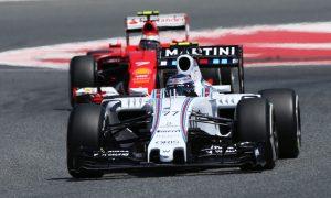 Williams buoyed by closer gap to Ferrari