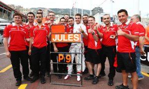 Alonso recalls Bianchi's 'miracle' P9