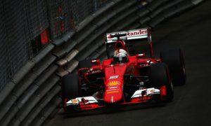 Vettel eyes Rosberg in to Turn 1