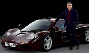 Rowan Atkinson enjoys McLaren F1 windfall