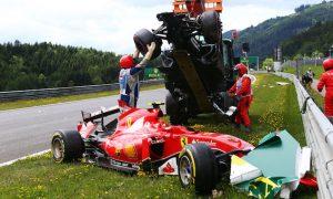'Dangerous' crash 'not ideal' - Raikkonen