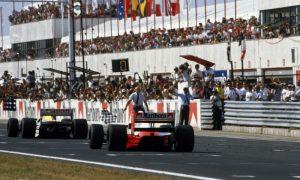 Classic Hungarian GP: Boutsen's tour de force