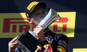 Kvyat expects to remain at Red Bull in 2016