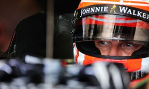 Button 'very excited' to test upgraded Honda