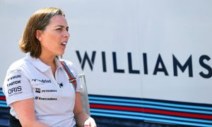 Claire Williams: 'I had to work twice as hard to get here'