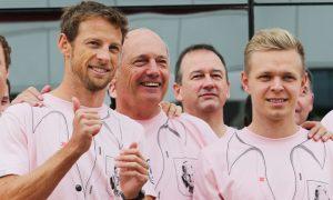 Button relationship 'quite rare' - Magnussen