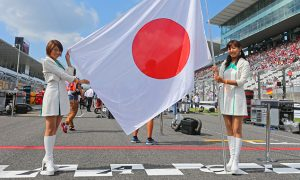 Flying the flag for F1 at Suzuka