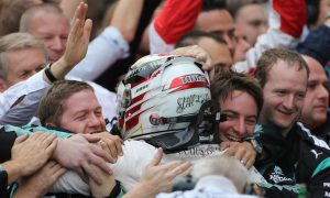 Hamilton praises 'phenomenal' Mercedes after title