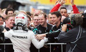 Raikkonen penalty hands Mercedes constructors' title
