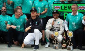No satisfaction in manner of title win - Rosberg