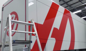 VIDEO: Haas shows off race truck liveries