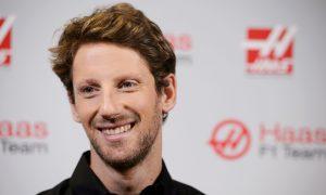 Grosjean reveals 2016 F1 helmet design