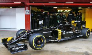 Renault to unveil race livery on March 16