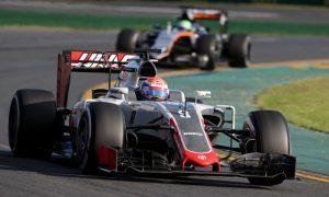 Stellar debut for Haas and Grosjean
