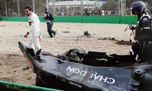 FIA recreated Alonso crash with Halo, drivers not impressed