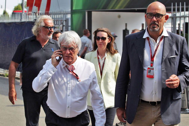 Bernie Ecclestone (GBR). 02.09.2016. Formula 1 World Championship, Rd 14, Italian Grand Prix, Monza, Italy, Practice Day. - www.xpbimages.com, EMail: requests@xpbimages.com - copy of publication required for printed pictures. Every used picture is fee-liable. © Copyright: Photo4 / XPB Images