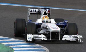 Gutierrez' first taste of F1