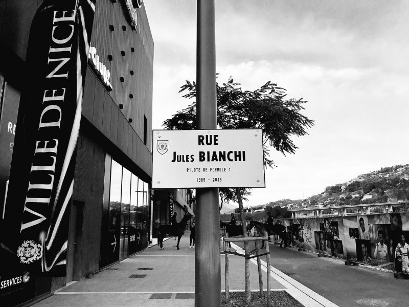 City of Nice unveils 'Jules Bianchi Street'