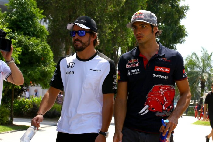 Alonso not quitting anytime soon - Sainz