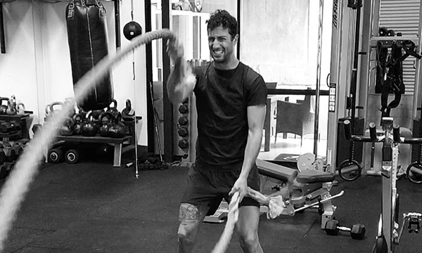 GALLERY: F1 drivers sweating it out