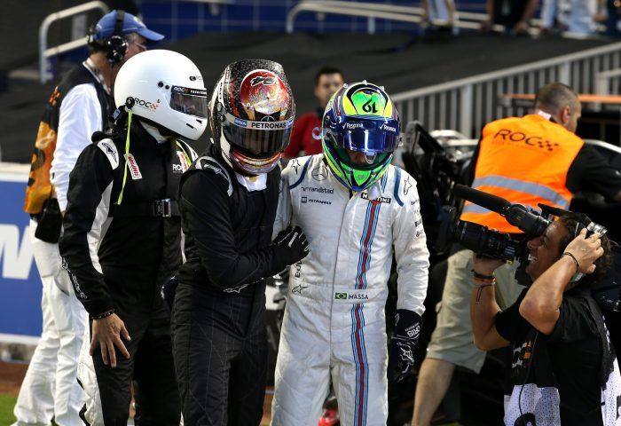Video: Wehrlein's 'crash and roll' with Massa at ROC