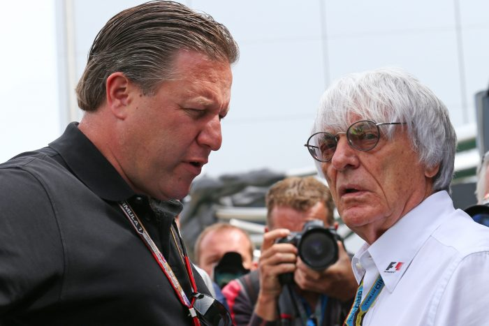 Ecclestone a 'very hard act to follow' - Brown