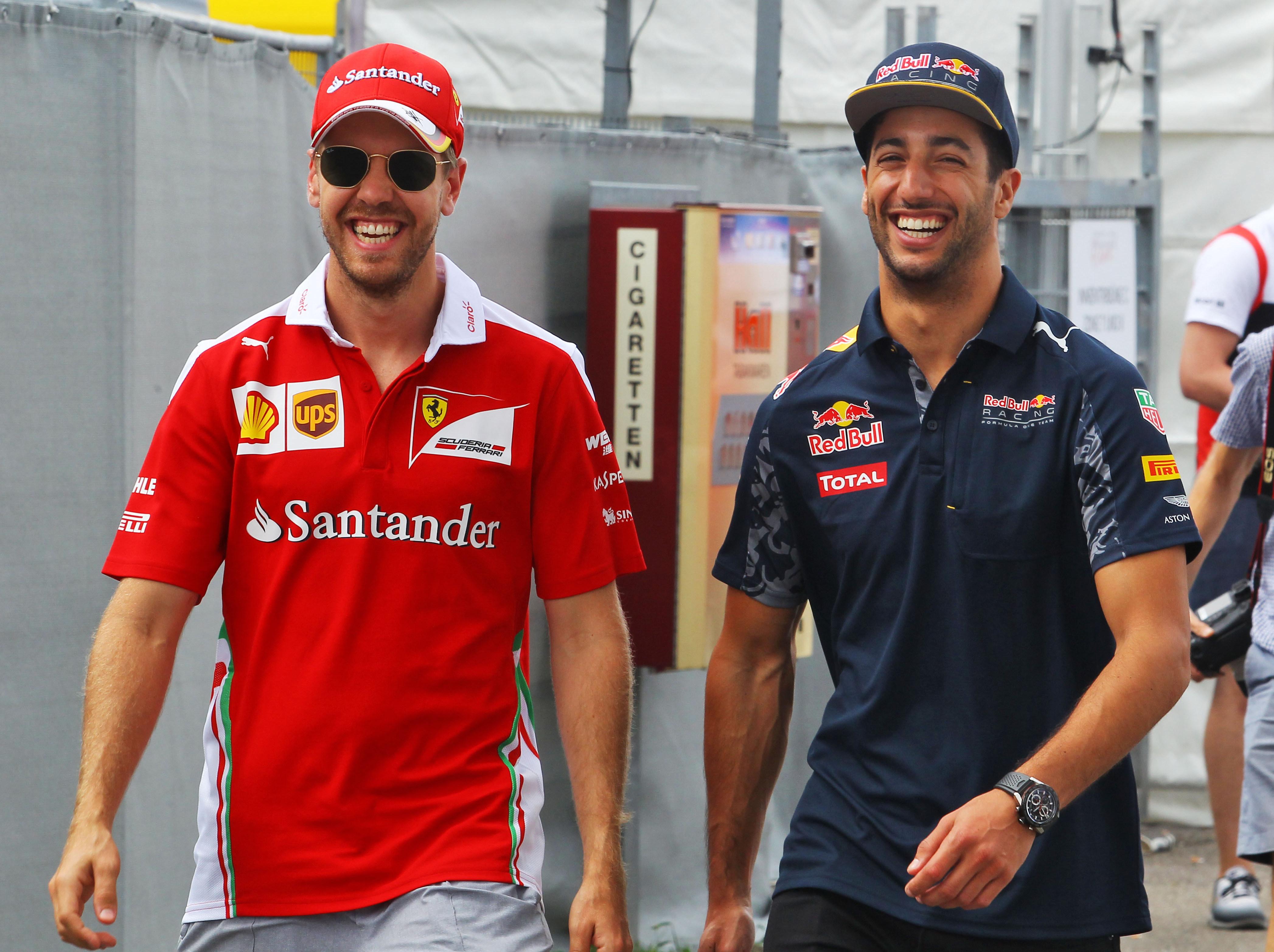 'Vettel is his own worst enemy,' says Ricciardo