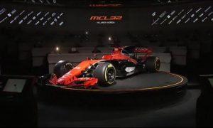 McLaren-Honda MCL32 revealed !