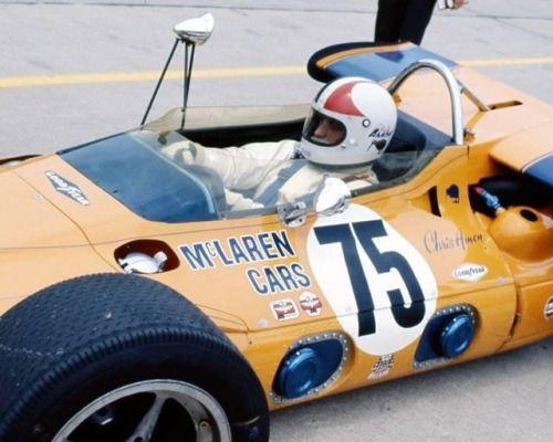 Amon and McLaren at the Brickyard
