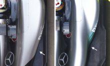 La Mercedes W08 à la loupe