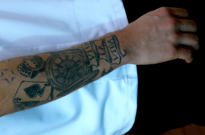 The story behind Kevin Magnussen's arm tattoo