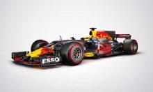 Photos studio de la Red Bull RB13
