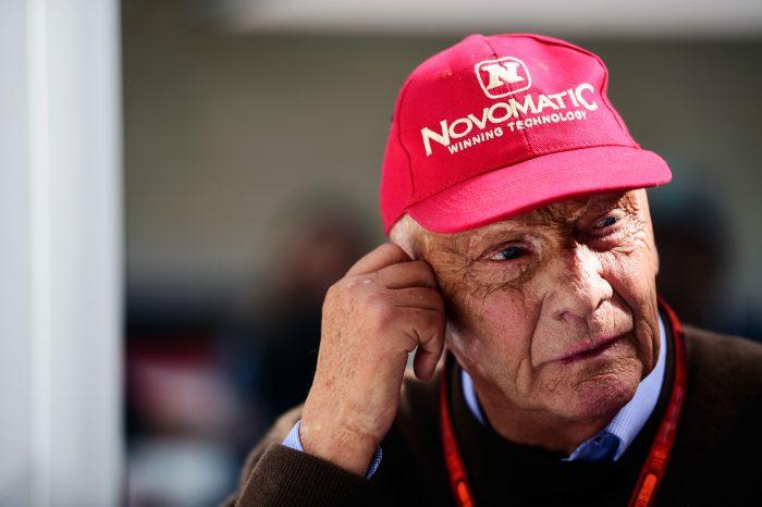 Niki Lauda (AUT) Mercedes Non-Executive Chairman