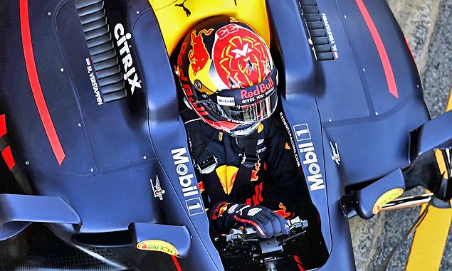 Overcoming jet lag the first task for Verstappen