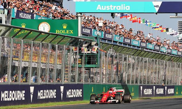 Vettel delivers shock Ferrari win in Melbourne!