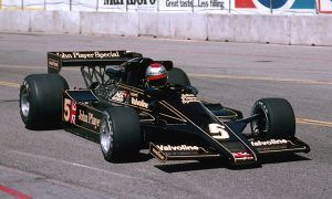 The first American to win a Grand Prix on home soil!