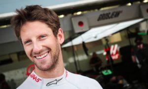Grosjean approves of Carbone Industrie brake test