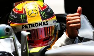 Hamilton and Mercedes make progress on poor grip issues
