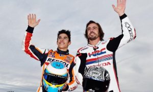Marquez and Rossi back Alonso to shine at Indy